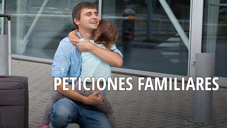 Peticiones Familiares. ¿A quien puedo pedir cuando soy residente o ciudadano?